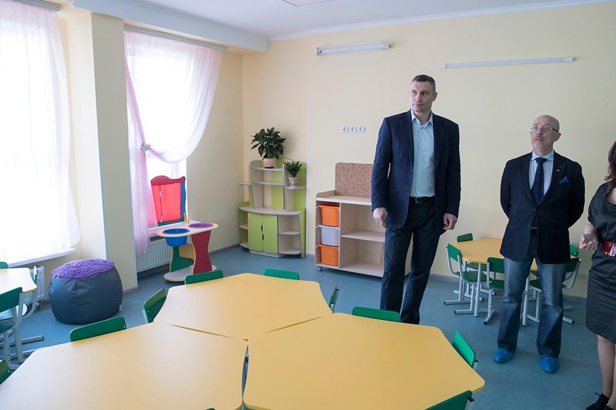 Кличко - детский сад Киев